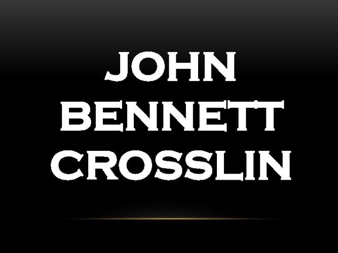 John Bennett Crosslin