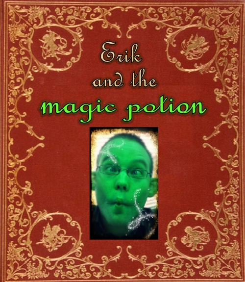 Erik and the magic potion oud