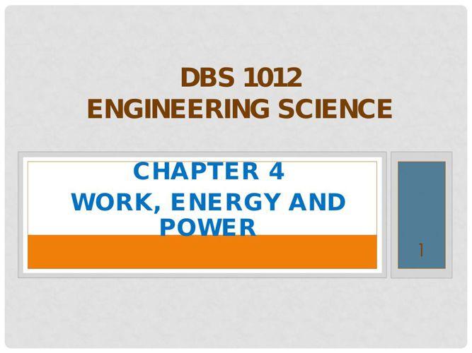 DBS 1012 SYNOPSIS