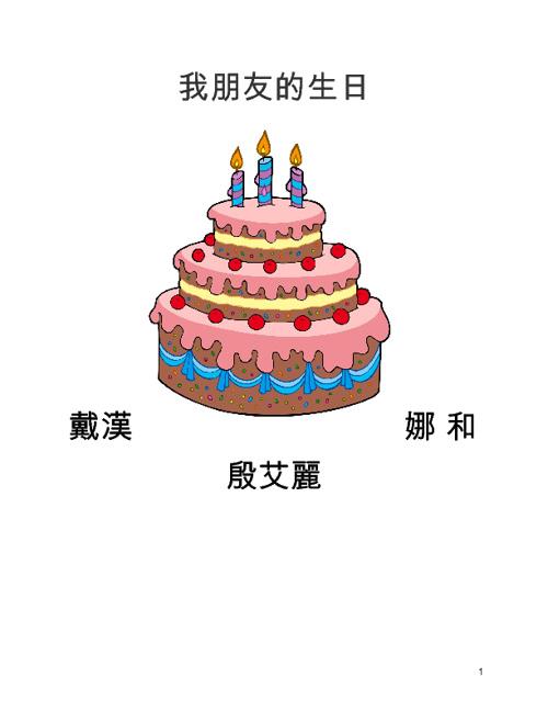 我朋友的生日