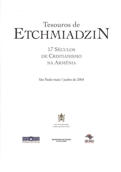 Tesouros de Etchmiadzin