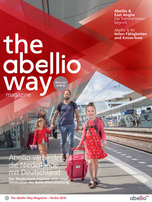 The Abellio Way Magazine - Autumn 2016 - German