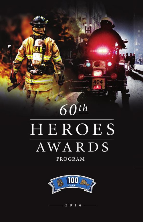 The 100 Club - 60th Annual Heroes Awards Program