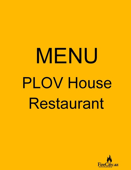 PLOV RESTAURANT_