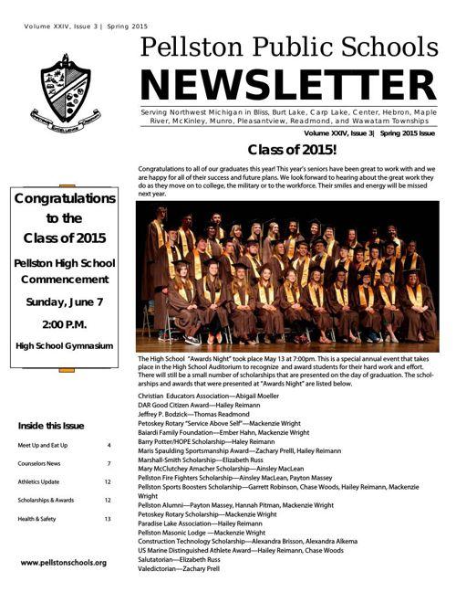 Spring Newsletter 2015 for flipsnack