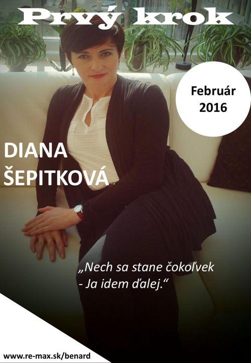 Prvý krok  február 2016 - časopis