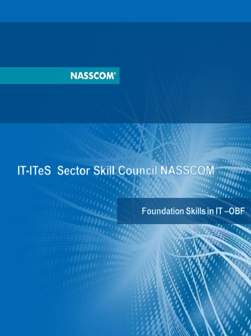 Foundation Skills in IT-OBF