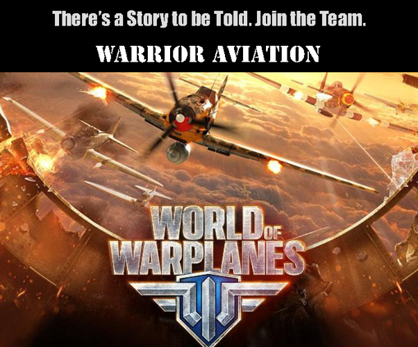 World of Warplanes Sponsorship