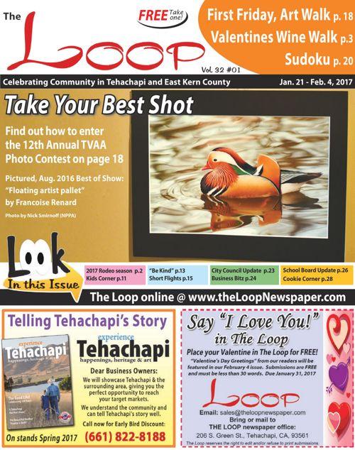 The Loop Newspaper Vol 32 No 01 - Jan 21 to Feb 4, 2017