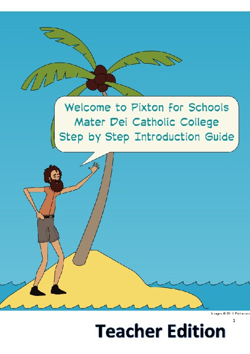 Pixton Guide for Teachers