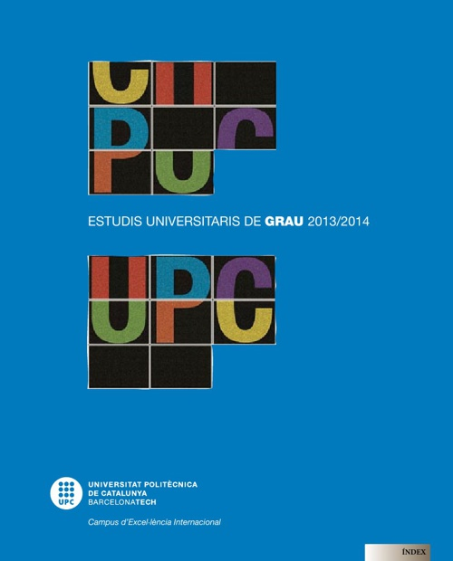 guia estudis UPC 2013-2014