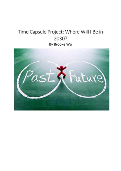 Time Capsule Project