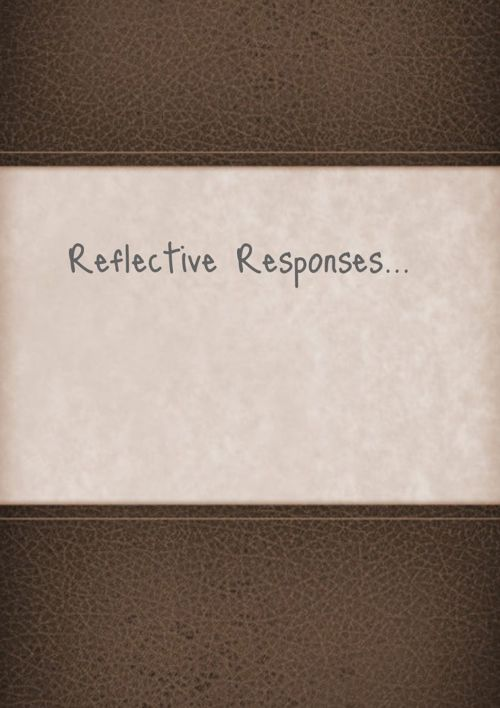 Reflective Response to Genres
