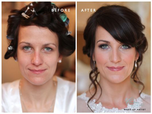 Copy of Wedding Before and After Bridal Photos 2015