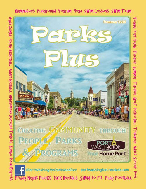 Parks Plus Summer Catalog 2016