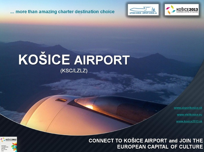 KOSICE AIRPORT 2013 OFFER