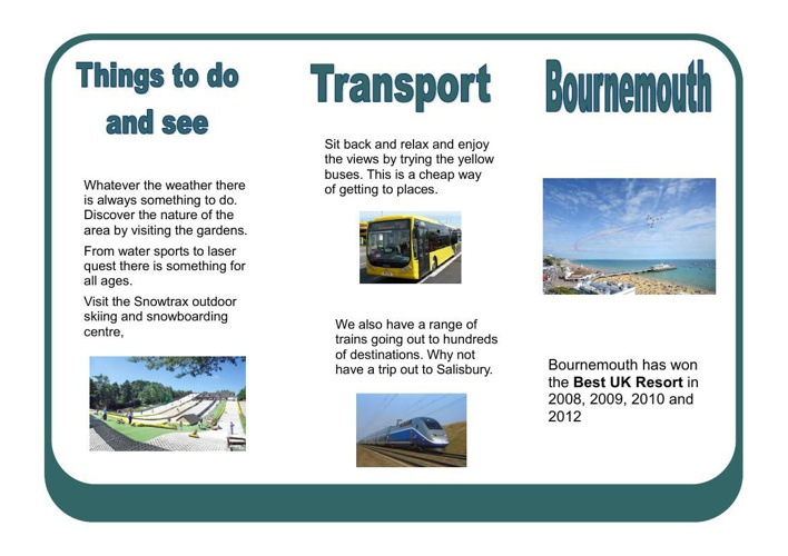 welcome to bournemouth booklet