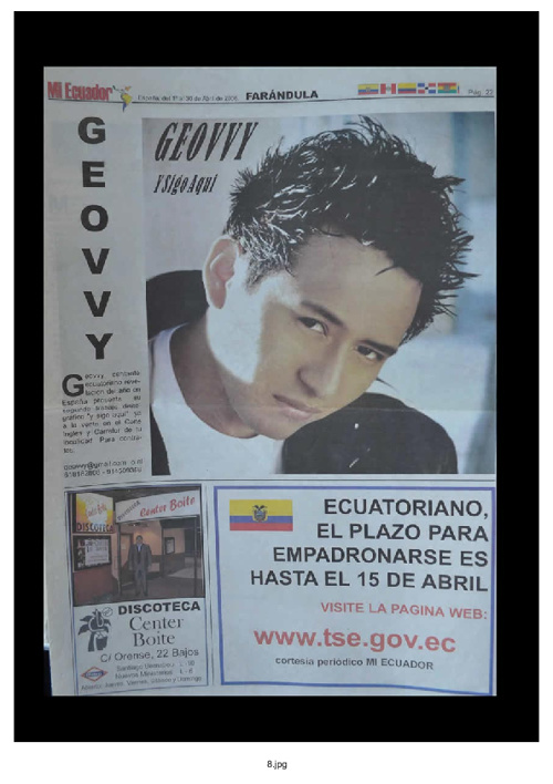Geovanny Hurtado revista