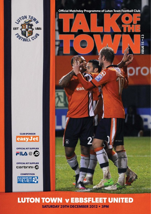 TOWN v EBBSFLEET ISSUE 15