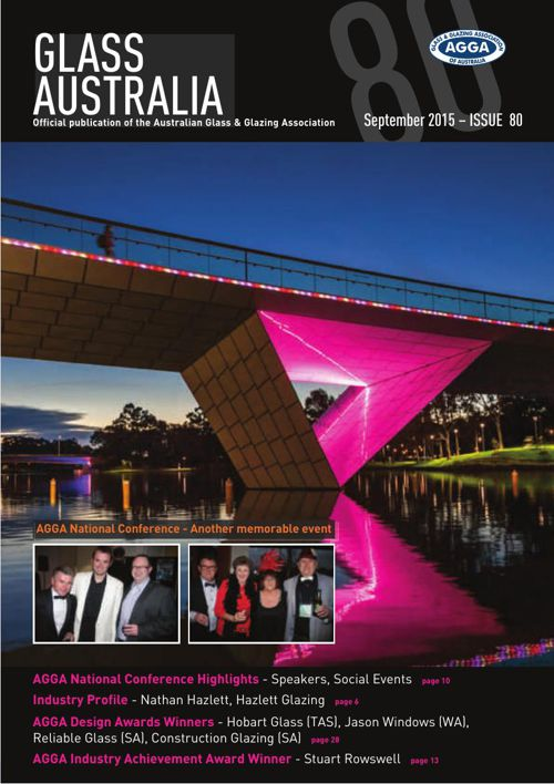 Glass Australia Magazine - Issue 80 - September 2015