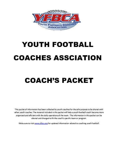 Copy of YFBCA Coaches Handbook