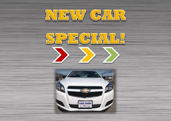 New Car Specials!