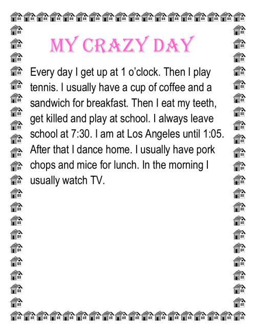 My crazy day!