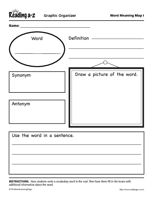 Mrs. Proctor's Graphic Organizers