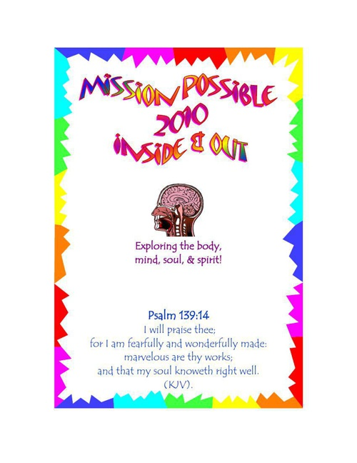 Mission Possible 2010 Yearbook