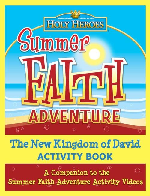 Summer Faith Adventure Activity Book sample