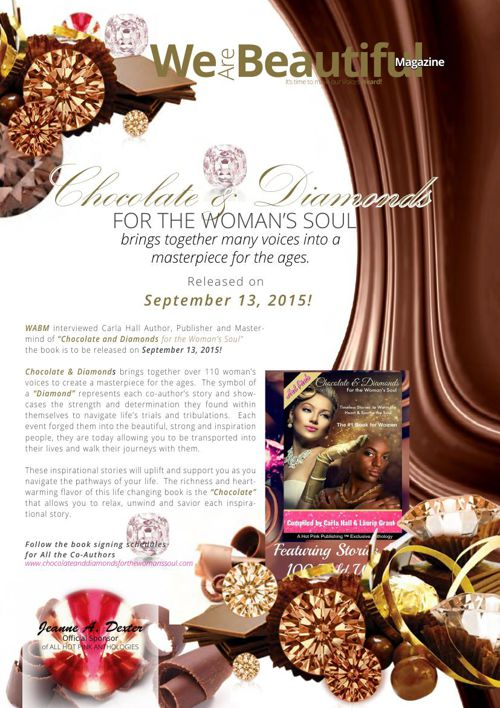 """WABM August  2015 """"Chocolate and Diamonds for the Woman's Soul"""""""