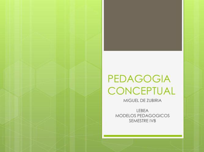 PEDAGOGIA CONCEPTUAL (1)