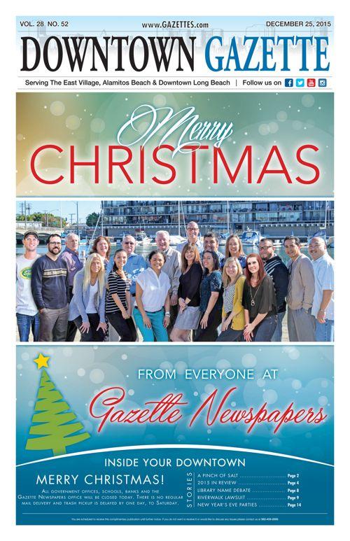 Downtown Gazette  |  December 25, 2015