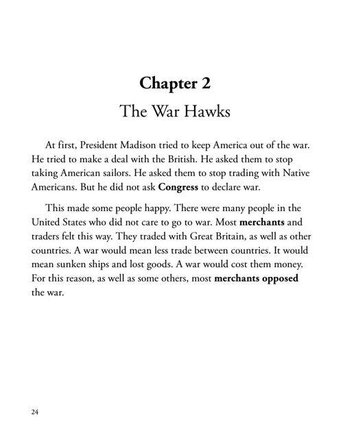 ch 2 the war hawks