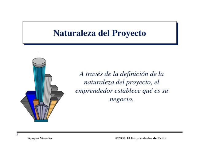 Naturaleza Plan Negocios
