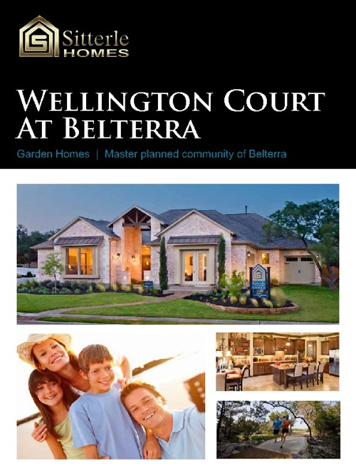 Sitterle Homes Wellington Court Belterra Online brochure