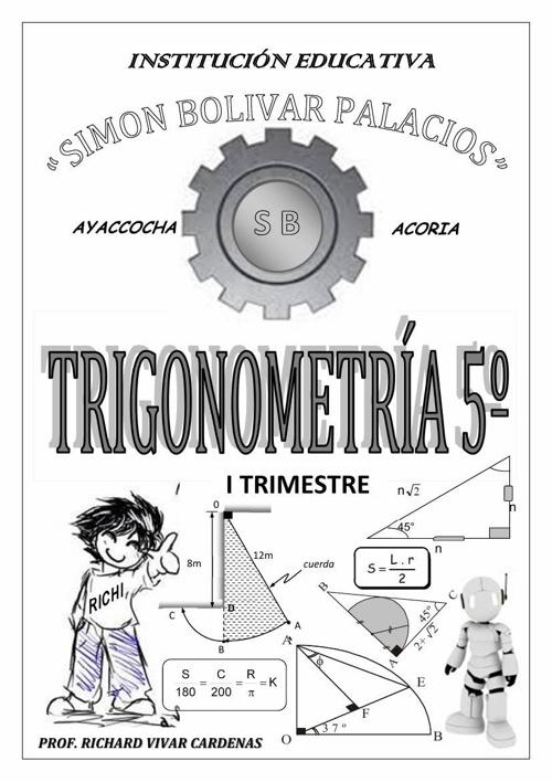FASCICULO DE TRIGONOMETRIA  I TRIMESTRE