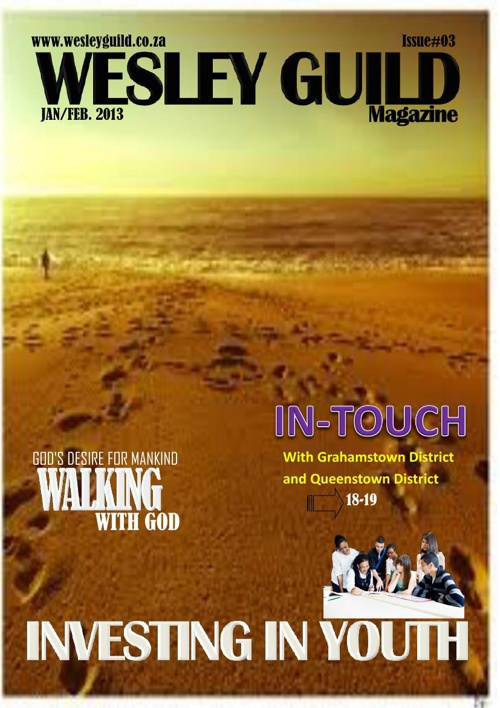 WESLEY GUILD MAGAZINE - JANUARY/FEBRUARY 2013
