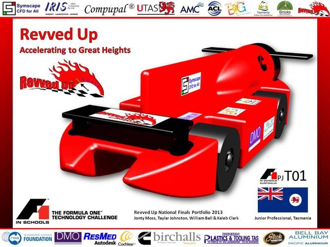 Revved Up - 2013 National Finals Portfolio