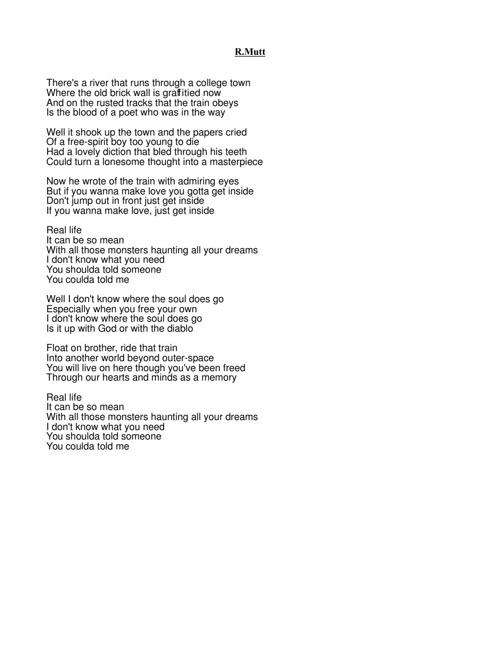 OWB Lyrics