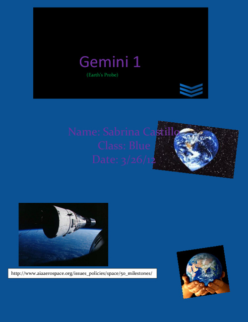 Gemini 1 (Earth's Probe)