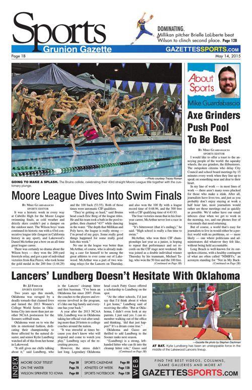 Gazette Sports | May 14, 2015