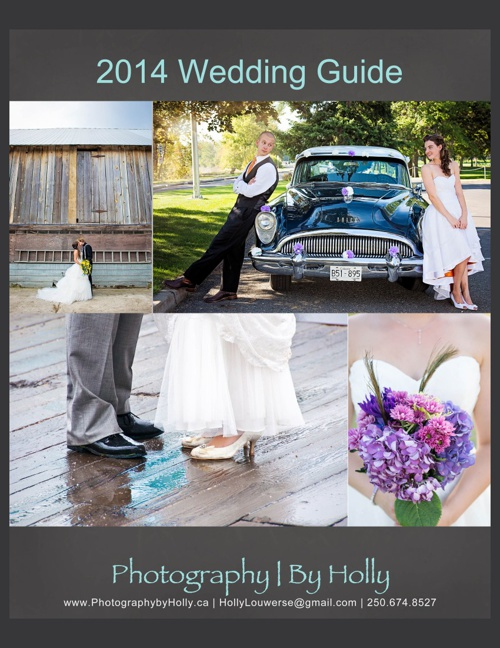 2014 Wedding Rate Guide - Photography | By Holly