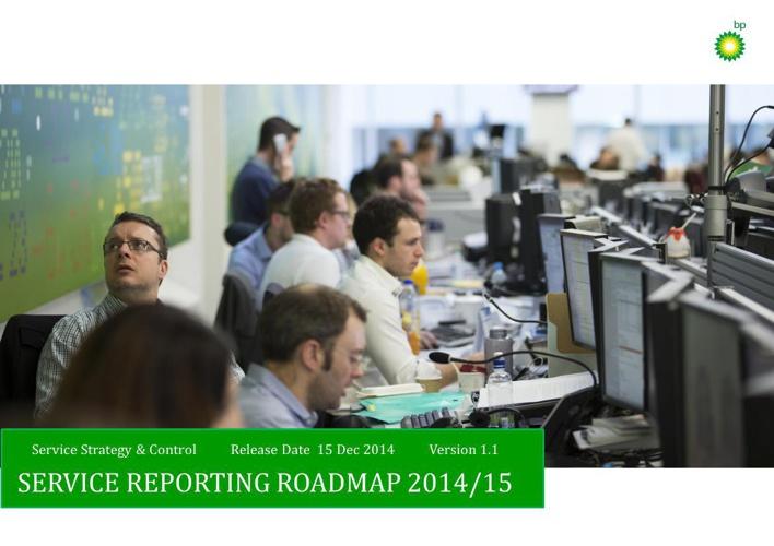 Service Reporting Roadmap 2014-2015 v1.1