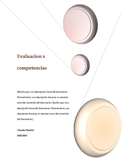 Evaluacion x competencias