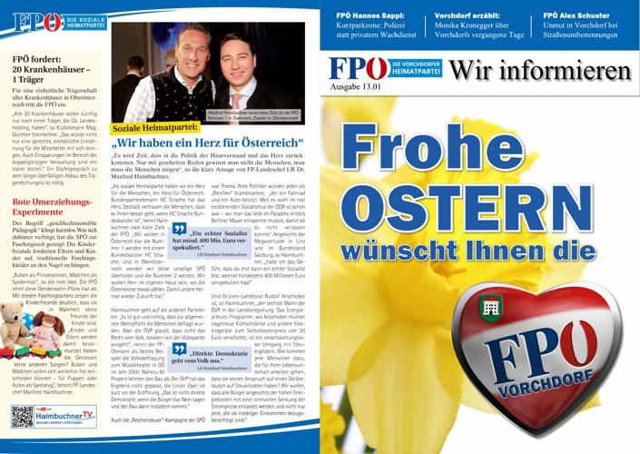 FPOE Vorchdorf - Wir informieren 2013.01