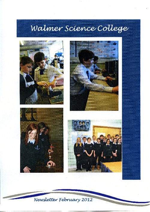 Walmer Science College Newsletter February 2012