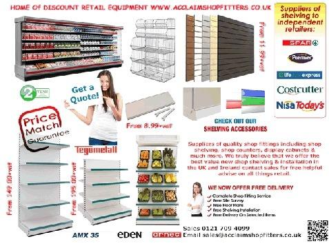 Shop Shelving & Retail Equipment