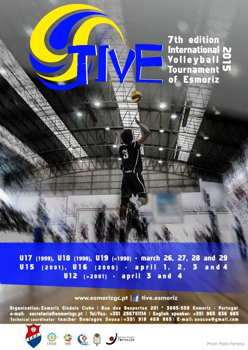 TIVE2015 - International Tournament Of Volleyball of Esmoriz - P