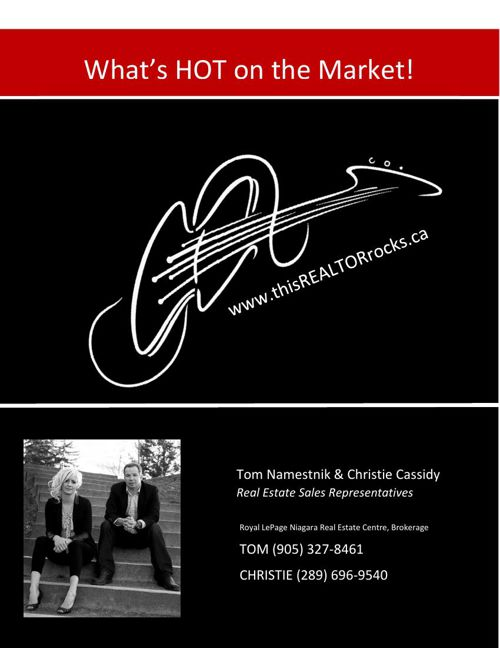What's Hot on the Niagara Market!